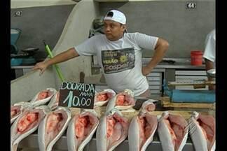 Preço dos pescados aumento até 100% com a aproximação da Semana Santa - Preço dos pescados aumento até 100% com a aproximação da Semana Santa.