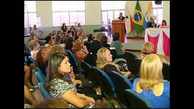Vereadores homenageam santarenas - A programação ainda foi em comemoração ao 8 de março, Dia Internacional da Mulher.