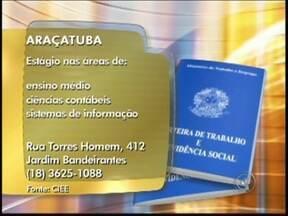 Veja quais são as vagas de emprego disponíveis para a região de Rio Preto - Empresas de São José do Rio Preto (SP) e região oferecem vagas de emprego para diversas áreas. Veja quais foram as oportunidades divulgadas no Bom Dia Cidade desta sexta-feira (14).