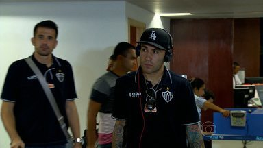 Galo vai com time reserva em jogo contra o Boa Esporte - Time mineiro desembarcou na noite desta quinta-feira em BH. Atlético-MG já está classificado para próxima fase do Campeonato Mineiro.