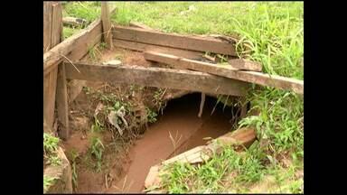 Chuva agrava problema de Avenida sem asfalto no bairro Interventoria - Moradores relatam que Avenida se torna 'rio de lama' em dias de chuva.