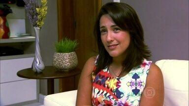 Carioca sofreu ao namorar um rapaz que tinha uma ex neurótica - Renata Santos conta que a menina destruiu seu relacionamento