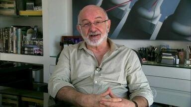 Silvio de Abreu conta que usava peruca - Autor de novelas começou a perder o cabelo com 19 anos