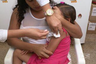 Campanha Emergencial de Vacinação contra Sarampo termina hoje (14) - Aqui no Maranhão, a vacinação ocorre nos quatro municípios da Ilha de São Luís e Alcântara.