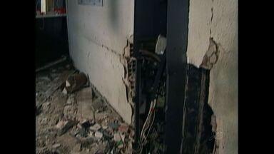 Bando explode banco em Hidrolândia - Este é o oitavo ataque a banco no Ceará em 2014.