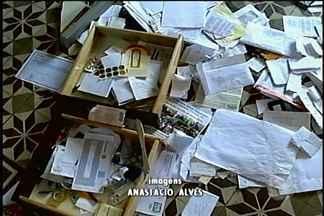 Palácio Diocesano é arrombado na madrugada desta sexta (14) - Bandidos levaram cerca de R$ 1. 200,00.