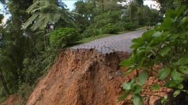 Estrada da Graciosa deve fica bloqueada por seis meses - Previsão é do DER