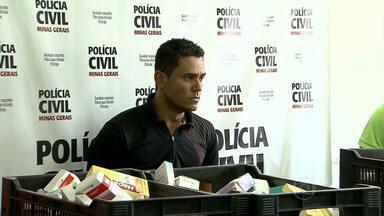 Homem é preso em BH com carga de remédios roubada - Segundo polícia, produtos estão avaliados em R$ 90 mil