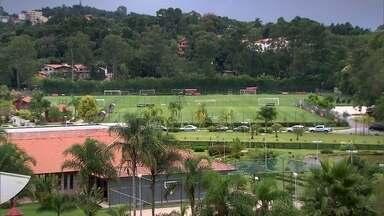 Centro de treinamento do São Paulo se prepara para receber a Colômbia - O centro de treinamento da categoria de base do São Paulo, em Cotia, está se preparando para abrigar a seleção da Colômbia no Mundial