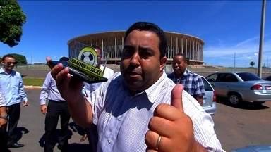 Craque do Táxi: em Brasília, sósia de Walter se destaca e se classifica para finalíssima - Vencedores vão se enfrentar em breve na grande final no Rio de Janeiro.