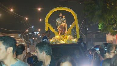 Dia de São José é marcado por procissão em Abreu e Lima - Santo padroeiro da cidade é patrono da Igreja Católica e padroeiro das famílias.