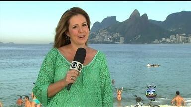 Verão termina e bate recorde de calor no Rio de Janeiro - A estação preferida dos cariocas foi a mais quente dos últimos 50 anos. A média de temperatura registrada foi de 36,2ºC. No bairro de Santa Cruz, na zona oeste, a sensação térmica chegou a 57ºC, no dia quatro de fevereiro de 2014.