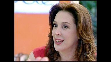 Veja depoimento de Claudia Raia sobre cirurgia no nariz - Atriz falou sobre o assunto no Mais Você