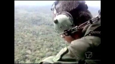 Chegam ao terceiro dia buscas por avião desaparecido no Pará - Bimotor saiu com cinco pessoas de Itaituba para Jacareacanga.Passageira enviou sms informando pane no motor da aeronave.