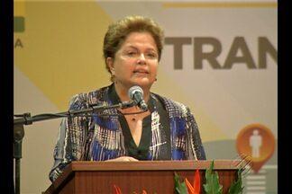 Presidente Dilma anuncia investimentos em Belém e Marabá - No Pará, a presidente Dilma Roussef anunciou investimentos em projetos de infraestrutura em Belém e Marabá.