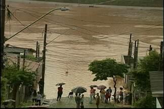 Três piscinões devem ser contruídos em Mogi das Cruzes - Uma solução para conter a água das chuvas. O município do Alto Tietê já conta com um em funcionamento,