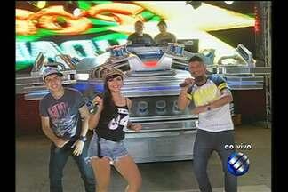 Gang do Eletro participa do É do Pará e fala sobre novo videoclipe - Grupo canta alguns sucessos consagrados.