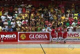 Seleção de Glória vence Siriri por 4 a 0 - Equipes encerram primeira fase da Copa TV Sergipe de Futsal