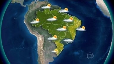 Nuvens carregadas de chuva se espalham pelo Brasil - Neste sábado (22), o tempo fica mais fechado e com chuva entre São Paulo e o Rio de Janeiro. Há risco de temporais entre o sul do Espírito Santo, o Amazonas e o Amapá.