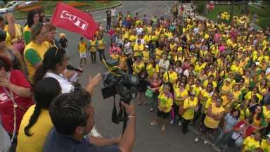 Educadores de creches de Curitiba encerram greve - Eles devem voltar ao trabalho na segunda-feira.