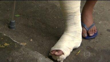 Morador do Complexo de Manguinhos é baleado na perna - A Coordenadoria das Unidades de Policia Pacificadora confirmou a informação de que um morador teria sido atingido durante o tiroteio.