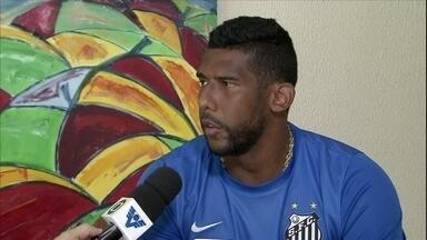 Destaque no clássico, Aranha destaca vantagem de jogar na Vila - Nas quartas de final, Santos pega a Ponte Preta, ex-equipe de Aranha