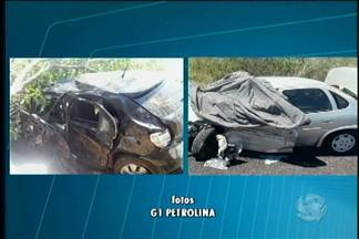Acidentes de trânsito marcam final de semana em duas cidades do Sertão pernambucano - Das três ocorrências, duas aconteceram na cidade de Santa Maria da Boa Vista.