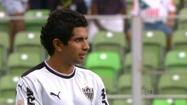 Sem Ronaldinho Galo goleia o América-MG, e sai na frente na busca pela final do Mineiro - O time do Galo goleou o Coelho, mesmo sem o craque R10, e consegue uma boa vantagem para a partida de volta das semifinais do Mineiro