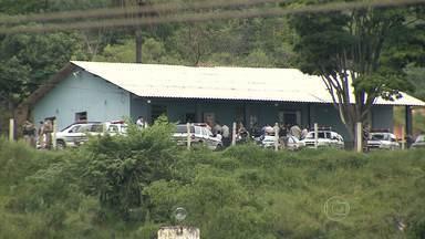 Quarenta e cinco armas são roubadas da Central de Escoltas Prisionais, na Grande BH - Suspeita é que os agentes penitenciários, que trabalham no local, tenham sido dopados. Não há suspeitos, segundo a Secretaria de Estado de Defesa Social (Seds).