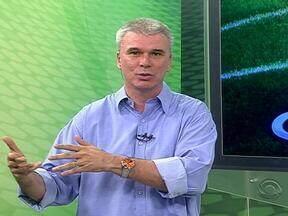 Maurício Saraiva fala sobre o resultado das quartas de final do Gauchão - Confira.