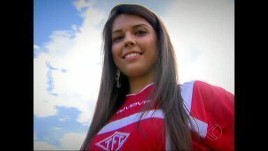 Candidata do Tombense está entre as finalistas do concurso Musa do Mineiro - Betânea Nery representa equipe da Zona da Mata na fase final do concurso que vai apontar a torcedora mais bonita do estadual