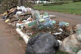 Moradores reclamam da falta de coleta de lixo em Goiânia - Comurg afirma que coleta está normalizada.