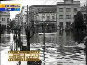 Grandes mudanças no clima fazem parte da história de Porto Alegre - Cidade completa 242 anos nesta quarta-feira (26).