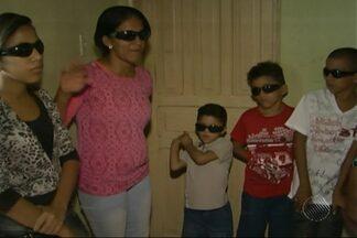 Dezesseis pessoas da mesma família têm catarata congênita em Itapetinga - O que acontece na família será estudado por especialistas em São Paulo.