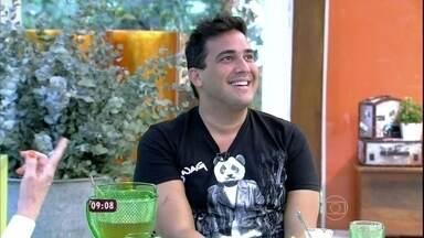 André Marques: 'fiquei mais sério depois da cirurgia' - O apresentador diz que até o sexo melhorou depois da perda de peso