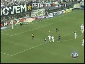 Penapolense não suporta pressão e perde para o Santos na Vila Belmiro - Pelo Paulistão, o duelo entre Santos e Penapolense na Vila Belmiro foi emocionante. O CAP chegou a estar na frente, por 2 a 1, mas acabou derrotado e não conseguiu a classificação para a final.