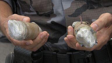 Polícia apreende granadas durante operação no jogo entre Ceará e Fortaleza - Quatro pessoas foram detidas na operação.