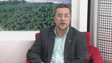 Reeleito da UEA Cleinaldo Costa fala sobre desafios de gestão - Um dos desafios dos 4 anos é a construção da cidade universitária.