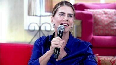 Maitê Proença: 'A gente não se relaciona com as pessoas ideais' - Nando Rodrigues afirma que o importante é saber respeitar o espaço do outro