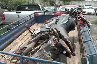 Motocicleta se envolve em acidente fatal na avenida Pedro Neiva de Santana, em Imperatriz - Uma motocicleta foi atingida por um reboque que se desprendeu de um automóvel.