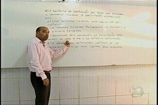 Quadro 'Concurseiro' traz dicas sobre direito - Professor traz dicas para os concurseiros.