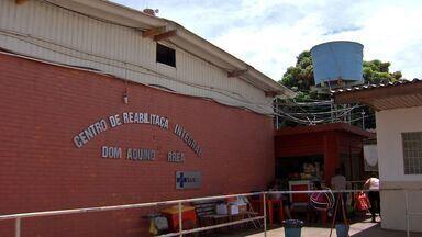 Centro de Reabilitação funciona parcialmente em Cuiabá - O Centro de Reabilitação Dom Aquino Correa funciona parcialmente em Cuiabá.