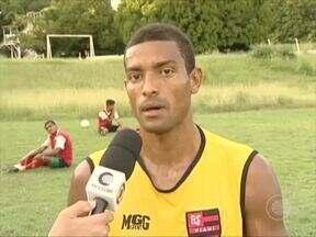 Flamengo-PI treina para a terceira rodada do segundo turno, que joga contra o Piauí - Flamengo-PI treina para a terceira rodada do segundo turno, que joga contra o Piauí