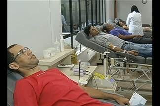 Em Marabá, Hemopa iniciou uma nova campanha para aumentar estoques de sangue no município - Coleta média de 25 bolsas por dia é considerada pequena para atender demanda local.