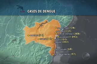Salvador é a cidade com maior número de casos de dengue no estado - No último mês, foi registrada a primeira morte por causa da dengue em Salvador.