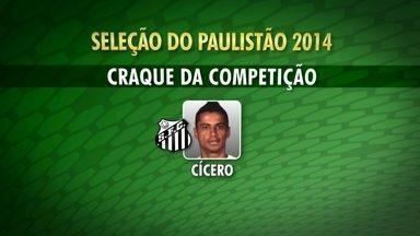 Santos domina seleção do Campeonato Paulista - Peixe tem cinco jogadores no time ideal, além do treinador, craque e revelação