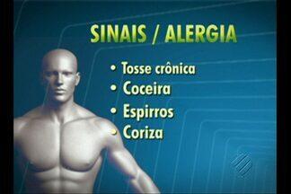 Fala Saúde tira dúvidas sobre alergias - Alergia pode ser respiratória ou de pele.
