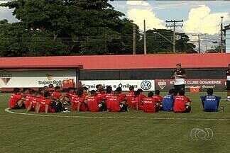 Atlético-GO recebe o Flamengo-PI no Serra Dourada - Equipe dá trégua no Campeonato Goiano e recebe equipe do Piauí. Empate classifica o Dragão para a próxima fase da Copa do Brasil.