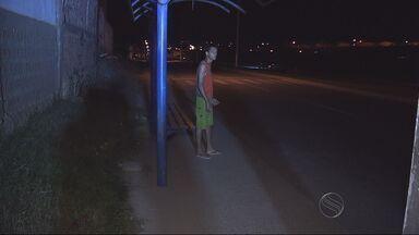 Moradores de São Cristovão reclamam da falta de iluminação na Rodovia Estadual - Moradores de São Cristovão reclamam da falta de iluminação na Rodovia Estadual
