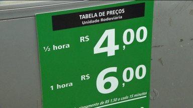 Procon encontra novas rregularidades em estacionamentos - Preços são cobrados em desacordo com a lei
